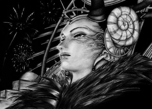 Sorceress Edea - The World is my Parade by ElStormo