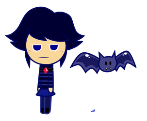 : Shadow Blueberry Cookie (Cookie Run OC #3) : by Amazing-Girl-Forever