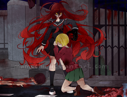 Rosary Of The Reaper promo art by mameshii