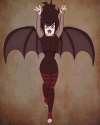 Mavis the Bat Woman by InsomniaQueen