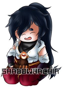 TG: Lil Panda Love by ShadowHachia