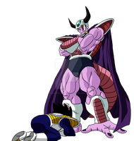 What If - King Cold and Vegeta by MalikStudios