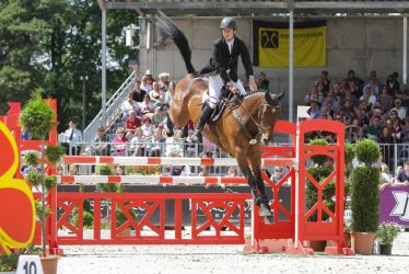 3DE Show Jumping Phase Stock 89 by LuDa-Stock