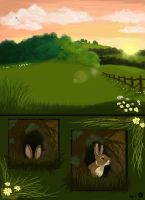 Watership Down Page 1 by VeronicaRosejones