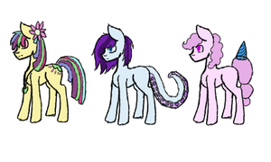 Adopt Batch 1-mlp-set 1 (OPEN) by ScribblySkiesStudios