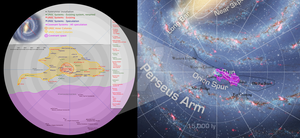 Map of the Halo Universe by deviantsock