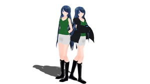 ItsFunneh MMD dl by Creeperless