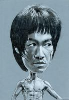 Bruce Lee caricature by Yohan-2014