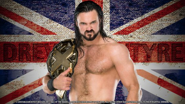 Drew McIntyre Desktop Wallpaper (1600 X 900) by ChrisNeville85