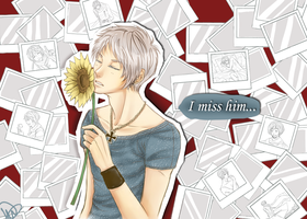 I miss him... by iSae-kun