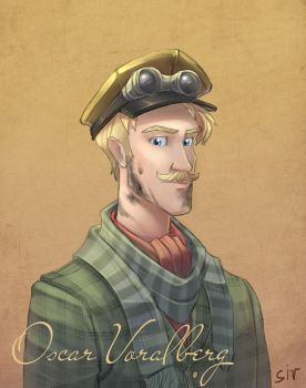 Oscar Voralberg by LordSiverius
