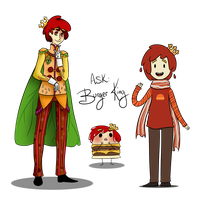Ask Burger King by Wi-Fu