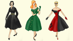 Gotham Noir Cocktail Dresses by eglem
