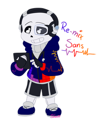 :chibi patreon: Re-mix sans by Sofua