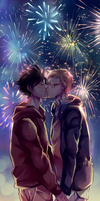[Krtsk] New Year's Kiss by hirappon