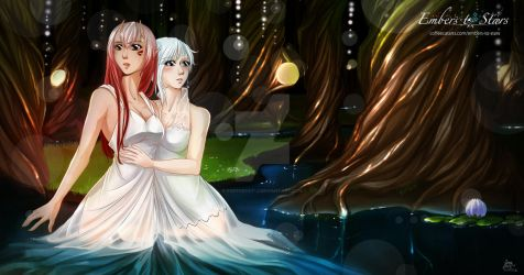 Embers to Stars - Fraie and Elya Concept by CoffeeCat-J