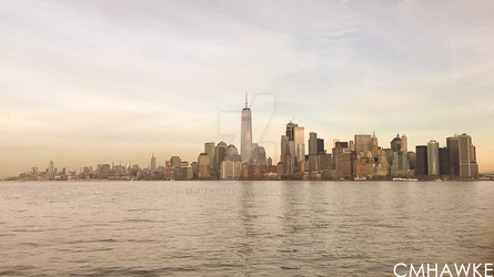 Manhattan Skyline by cmhawke