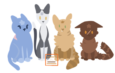 Warrior Cats Leaders by Ammexthecat