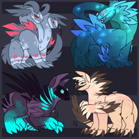 Paypal Creature Adoptables [closed] by LordStarsCreamy