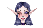 Elf (Speedpaint!!) by All-The-Fish-Here