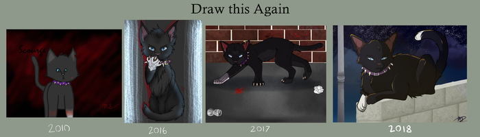 Draw this Again 3: Scourge by drawingwolf17