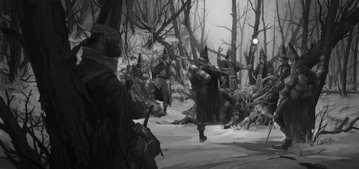 Ash Walkers, Illustration Sketch - 2 by TimofeyStepanov