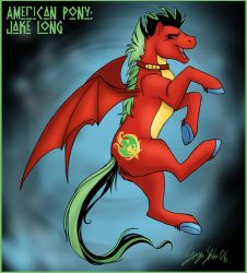 American Pony: Jake Long by Serge-Stiles