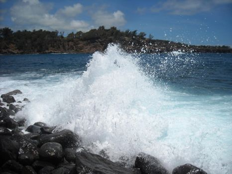 Hawaii - Keokea waves E by FoobyKamikaze