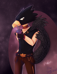 Tokoyami by MayStardust