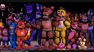 {Ask the animatronics}(Open)(NEW PICTURE SOON.) by Teetheyhatty