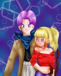 Angel Rose and Trunks by RyokoZchan