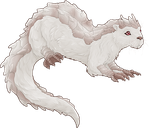 Albino Otter by The-Below