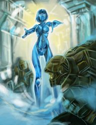 cortana with phalanx virus by haribon