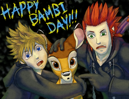 HAPPY BAMBI DAY by Rebmakash