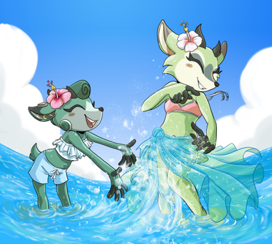 [COM] Summer splashes by Chiibe