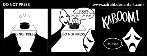 Trese's Kambal: Do Not Press by azirahl