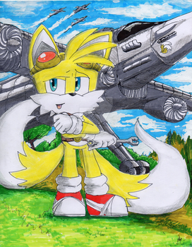 Tails The Fox by EROS-ARISTOTELES-ART