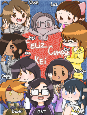 Feliz Cumple Kei by MoustacheKat