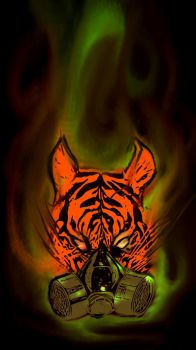 Toxic Tiger by Kenny148