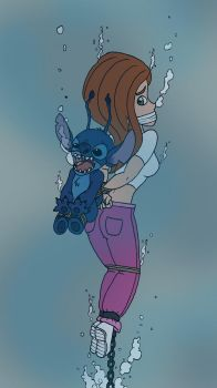 Kim and Stitch in Peril by Doctor-Awkward