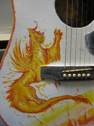 guitar painting stupendous lew by not-fun