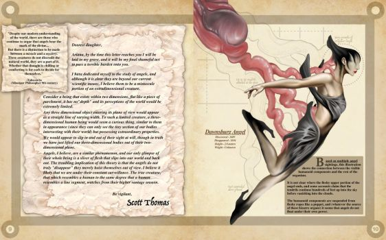 Angel Pages 2- A Natural History of the Fantastic by Christopher-Stoll