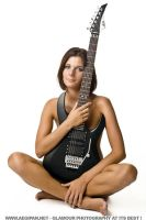 Guitar Girl Benedicte by aegipan