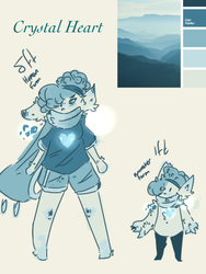 Crystal Hearts (open species in WIP by PuppyistheFire