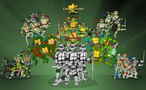 TMNT - Turtles Forever (1000th Deviation) by tmntsam