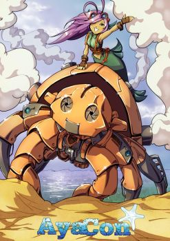 AyaCon MechaCrab by drcloud