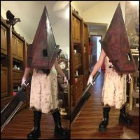 Silent Hill 2 red Pyramid Thing cosplay V.5 by Rising-Darkness-Cos