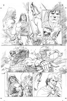 Mike Hawthorne pencils 02 by BlipMartindale