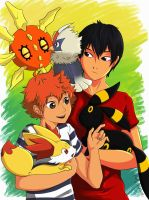 Kagehina Pokemon AU