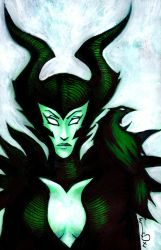 Maleficient by lervold
